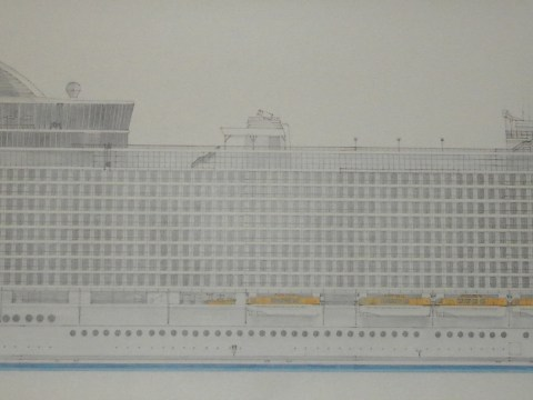 The buoy wonder: Ship-mad teen makes waves with drawings of liners