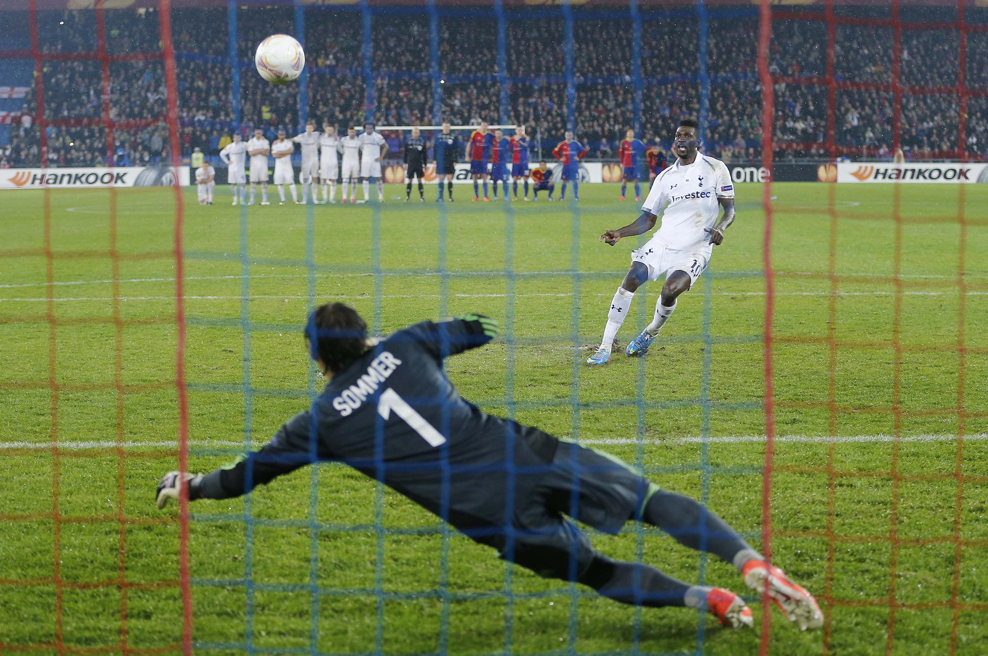 FC Basel v Tottenham Hotspur - UEFA Europa League Quarter Final Second Leg