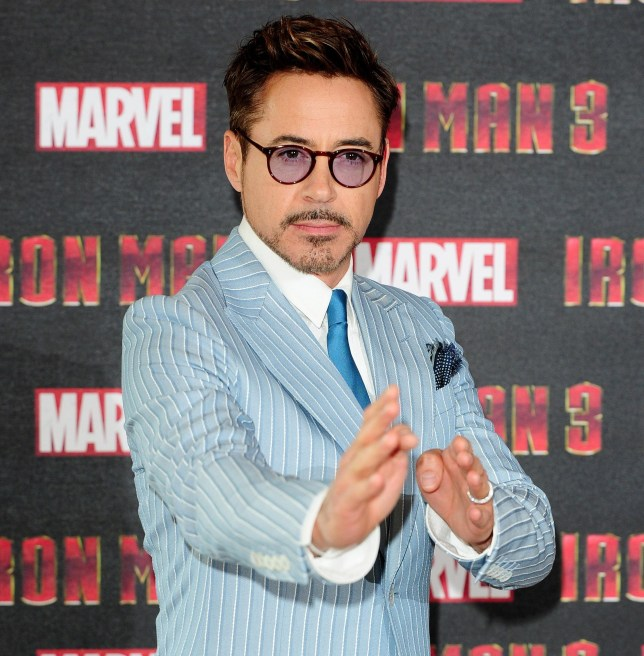Robert Downey Jr made a joke about Iron Man 4 at a press conference (Picture: PA)
