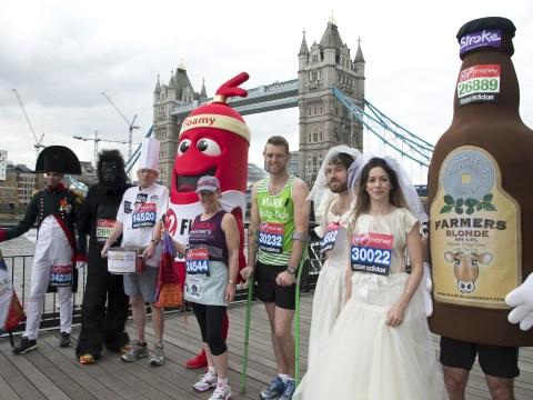 Gallery: London Marathon 2013 – Guinness World Record Attemptees