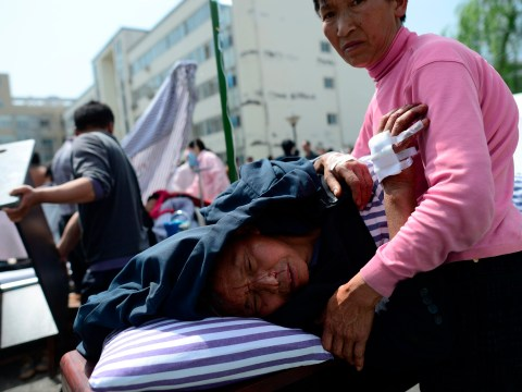China earthquake: Death toll passes 200 with 11,000 injured in remote Sichuan