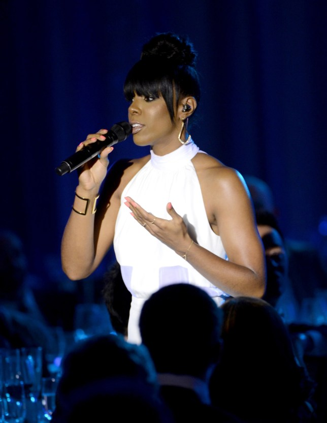 Prayers answered: Kelly Rowland has revealed she asked God for help during her whale watching boat ordeal (Picture: Getty)