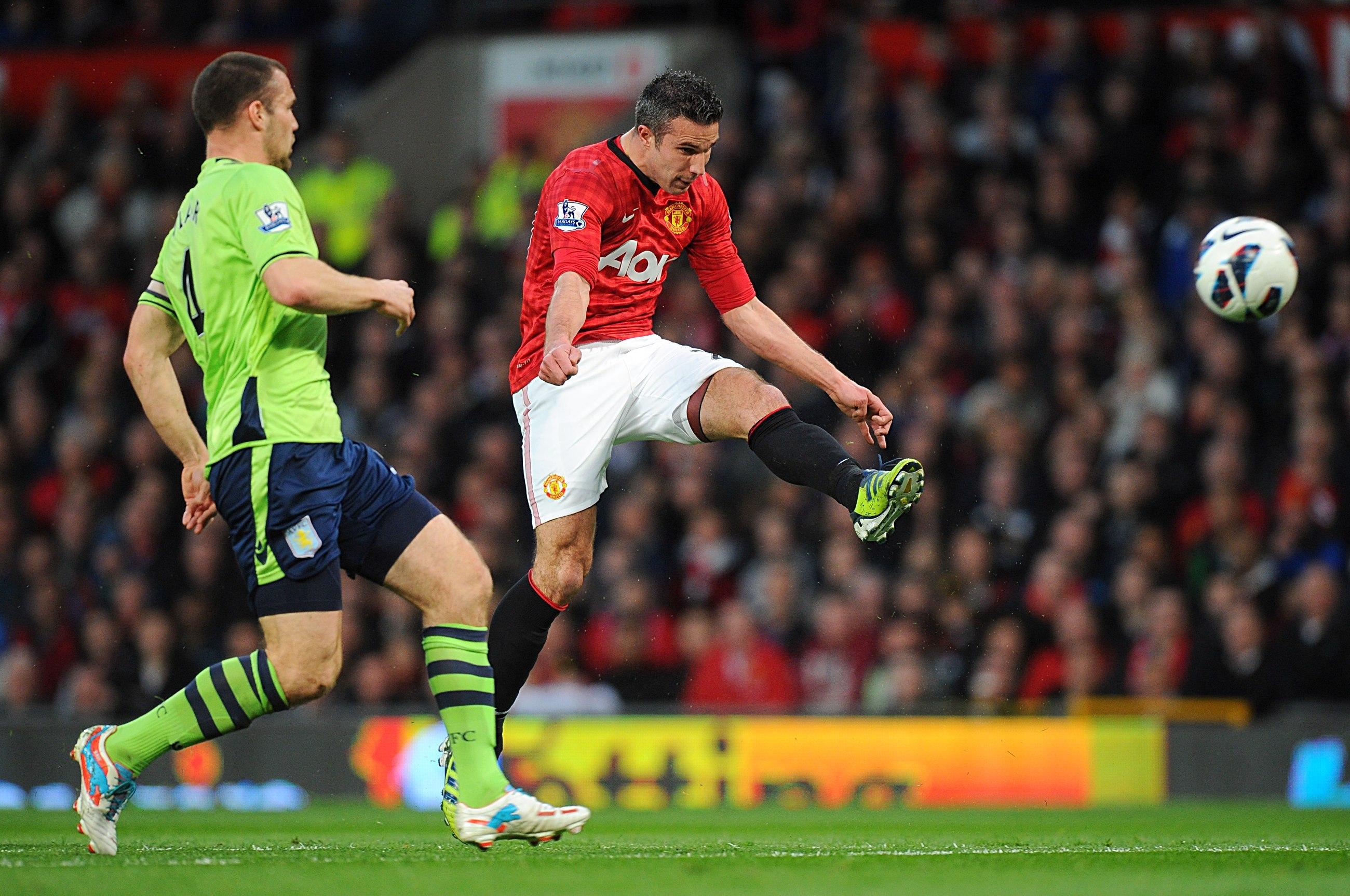 Gallery: Manchester United v Aston Villa – 22 April 2013