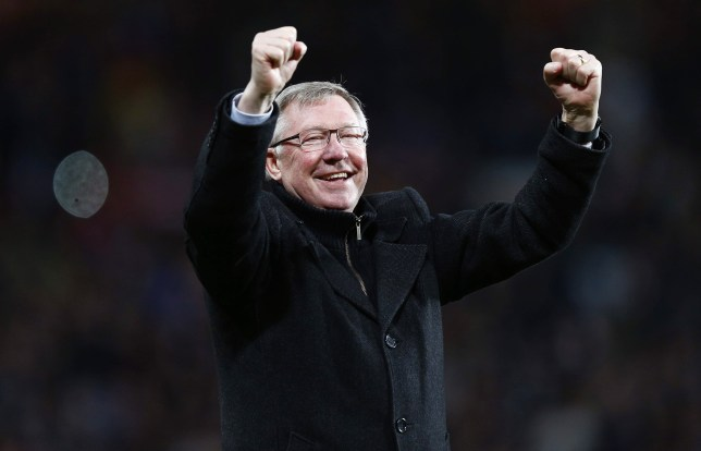 End of an era: Sir Alex Ferguson is retiring (Picture: Action)