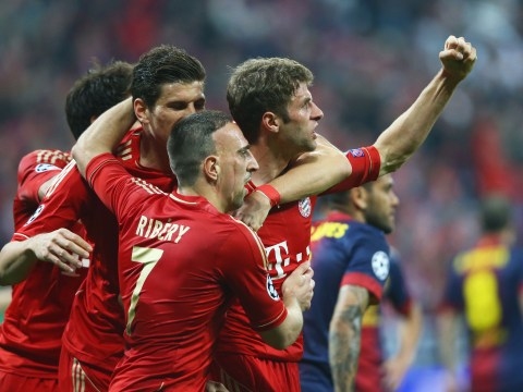 Gallery: Bayern Munich thrash Barcelona in Champions League semi-final 2013