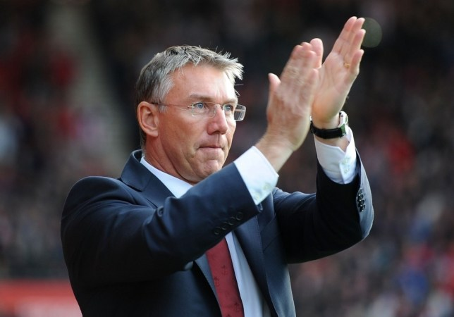FILE - 2013 MARCH 26: Nigel Adkins, 48, is to be appointed the new Reading Manager replacing Brian McDermott.  SOUTHAMPTON, ENGLAND - NOVEMBER 10: Manager of Southampton Nigel Adkins looks on during the Barclays Premier League match between Southampton and Swansea City at St Mary's Stadium on November 10, 2012 in Southampton, England. (Photo by Tom Dulat/Getty Images)