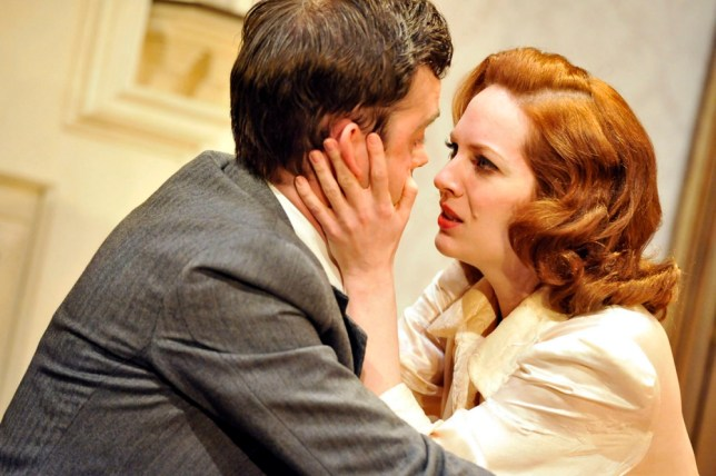 Before The Party, starring a standout Katherine Parkinson and David Marshall (Picture: Picdar)