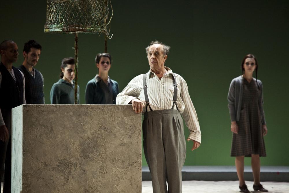 Leo Nucci has  his moments in the title role but Daniele Abbado's efforts drag Nabucco right back down again (Picture: Rudy Amisano/Teatro alla Scala)