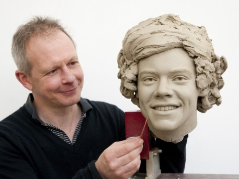 One Direction's Madame Tussauds waxworks near completion as clay heads of the boys are revealed
