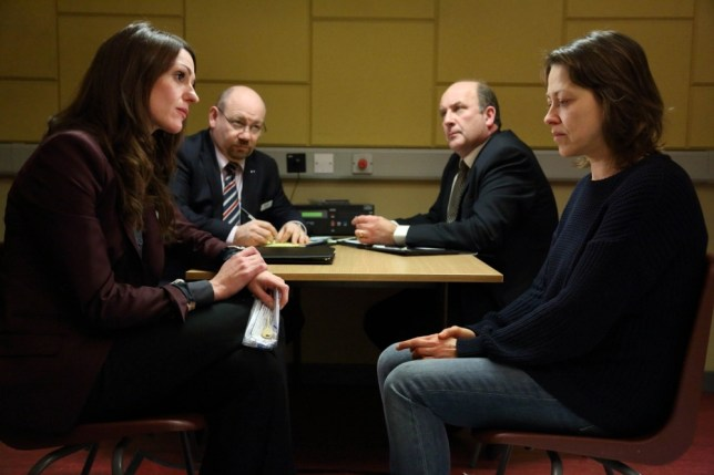 Suranne Jones is back in the new series of Scott & Bailey (Picture: Red Production Company)