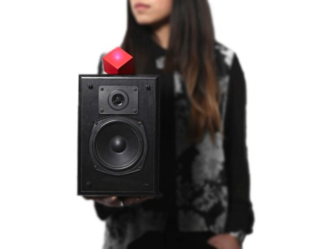 The Vamp can transform your old sound system into a portable Bluetooth speaker