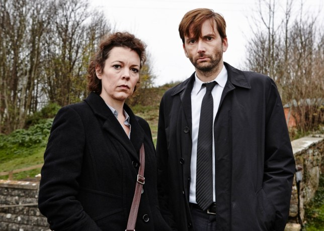 Olivia Colman and David Tennant team up in Broadchurch (Picture: ITV)