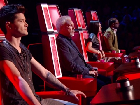 Things hot up between Jessie J and Danny O'Donoghue on The Voice