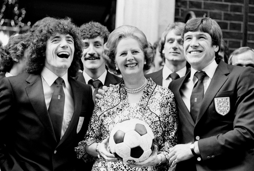 Sound of silence: 'Respect' for Margaret Thatcher at football matches? No chance