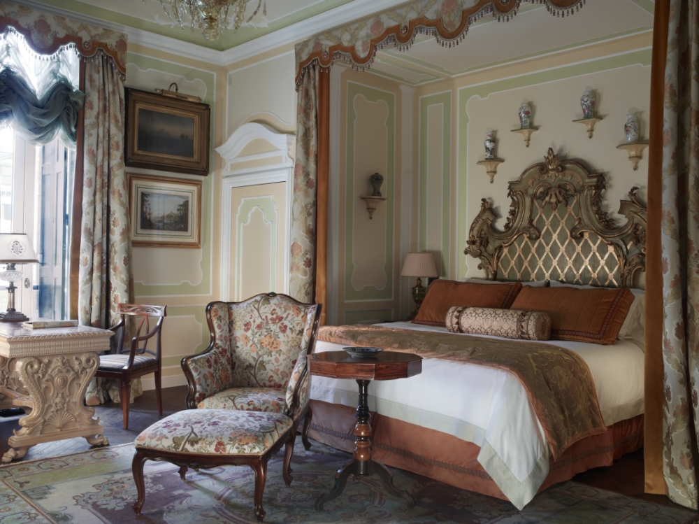 The Gritti Palace's Hemingway Suite offers the height of luxury (Picture: File)