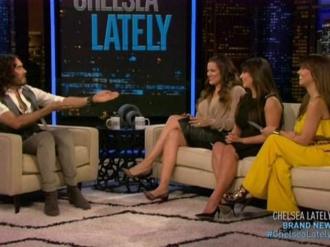 Randy Russell Brand tells Kardashian sisters he's keen for a 'KKK threesome'