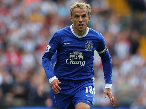 Phil Neville to quit Everton – Darron Gibson immediately stakes claim for captaincy via Twitter