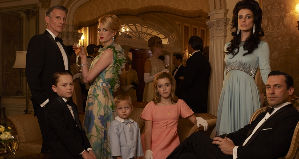 Mad Men returns for season six with some familiar faces (Picture: Lionsgate)