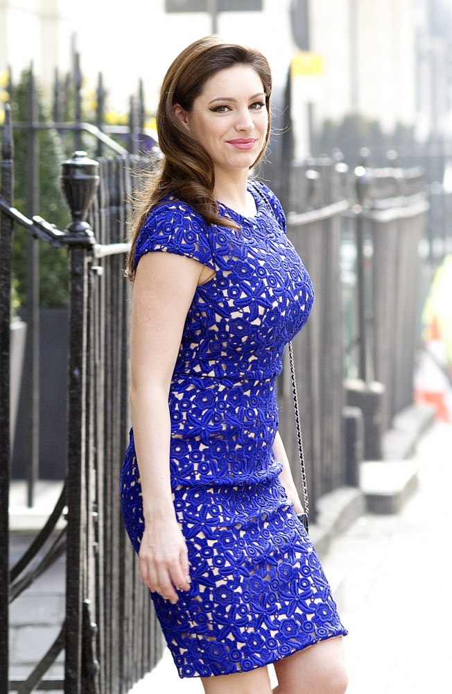 Kelly Brook hints she's in talks to star in new British film