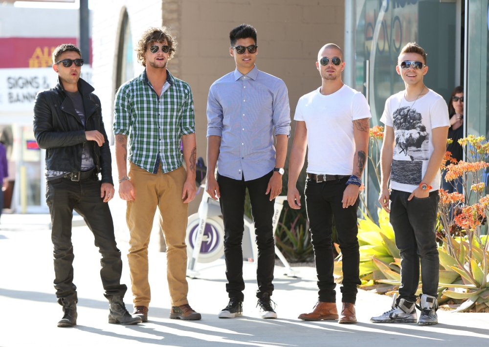 The Wanted at war over second series of The Wanted Life