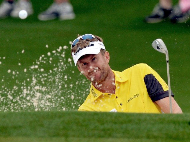 David Lynn of England plays during the first round of the 77th Masters golf tournament at Augusta National Golf Club on April 11, 2013 in Augusta, Georgia.    AFP PHOTO /JEWEL SAMADJEWEL SAMAD/AFP/Getty Images