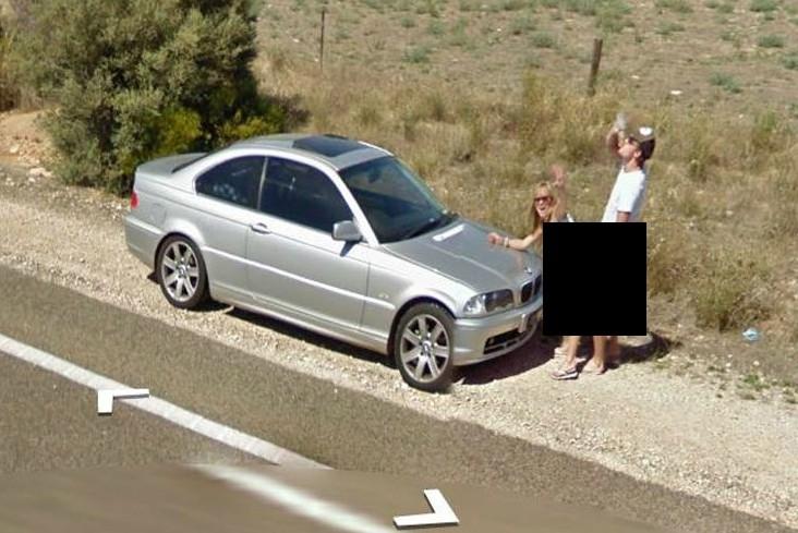 Couple caught having sex in car