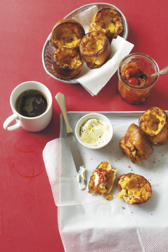 Make corn popovers from Tori Haschka's A Suitcase And A Spatula (Picture: Isobel Wield/RPS)