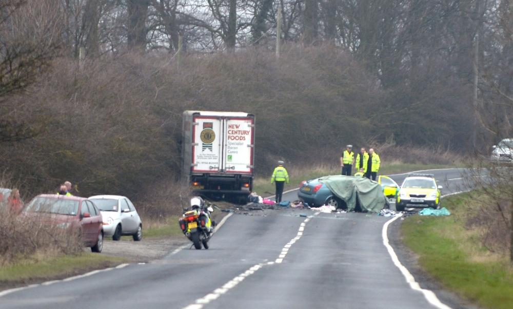 A18, Grimsby crash, Laceby