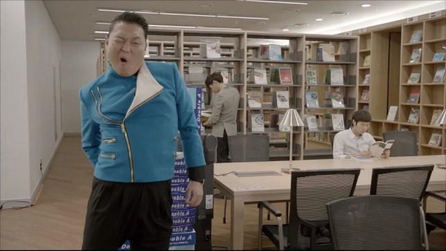 Psy, Gangnam Style, Gentleman