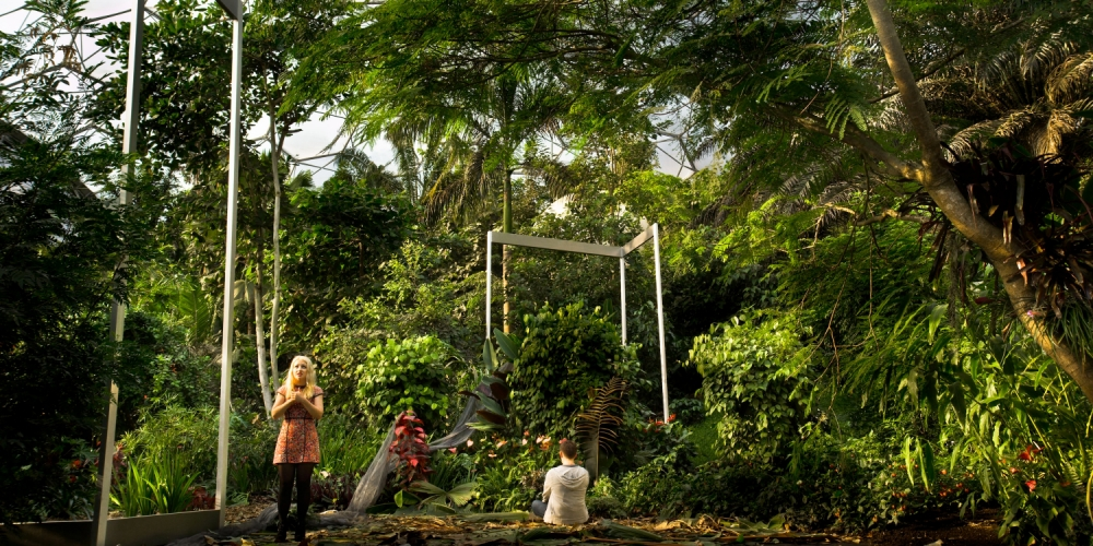 ENO's Sunken Garden: This amateurish and clunky 3D film opera should be paved over