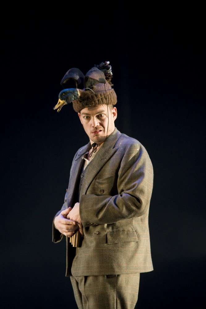 Christopher Maltman is superb as comic sidekick Papageno (Picture: Bill Cooper)