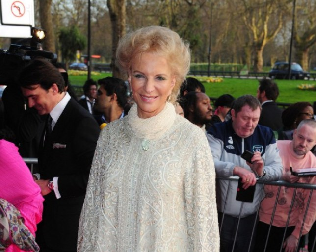 Princess Michael of Kent arrives at the Asian Awards held at the Grosvenor House Hotel in London. PRESS ASSOCIATION Photo. Picture date: Tuesday April 16, 2013. See PA story SHOWBIZ Asian. Photo credit should read: Ian West/PA Wire