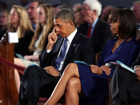 Boston marathon blasts: Barack Obama breaks down in tears as he vows to find those responsible