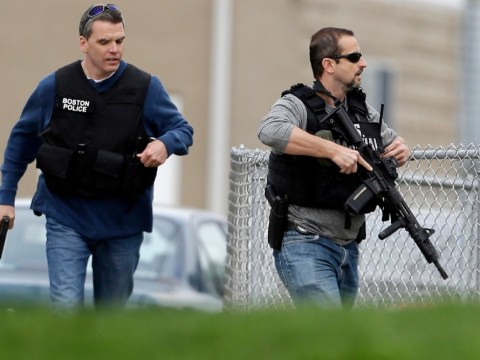 Gallery: Boston MIT shooting and Watertown operation