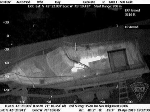 Boston marathon bombings: Dramatic video of Dzhokhar Tsarnaev hiding in boat released