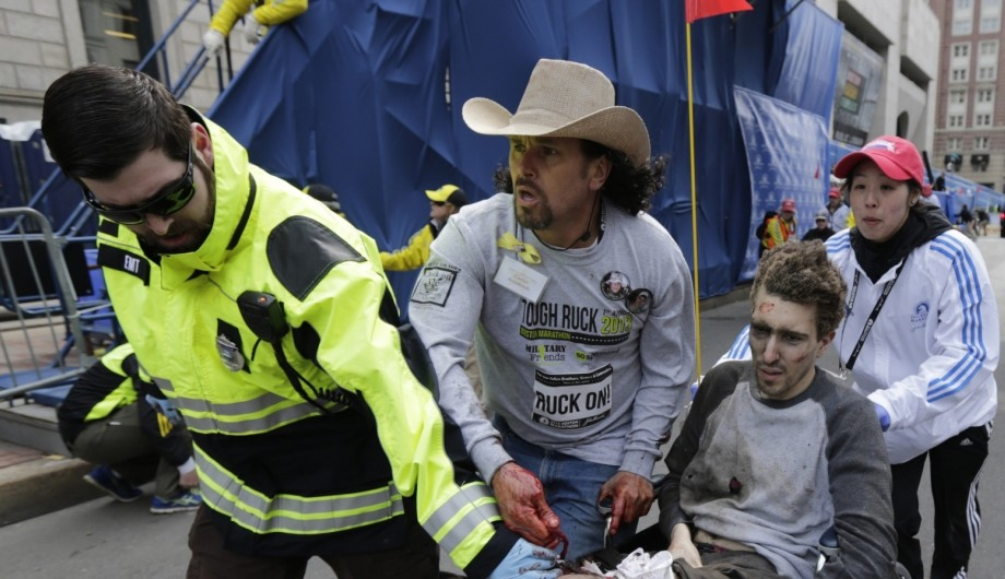 Boston marathon bombings victim: 'I'm angry… but he's dead and I'm still here'