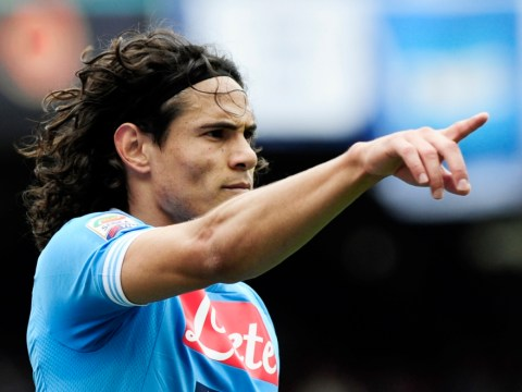 Chelsea and Manchester City 'pipped to Edinson Cavani by PSG'