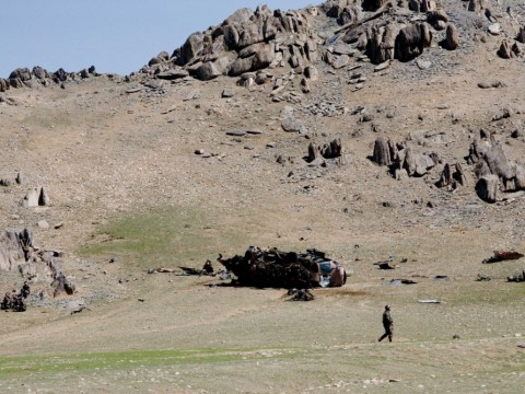 Foreigners taken prisoner in Afghanistan as helicopter forced to land in Taliban territory