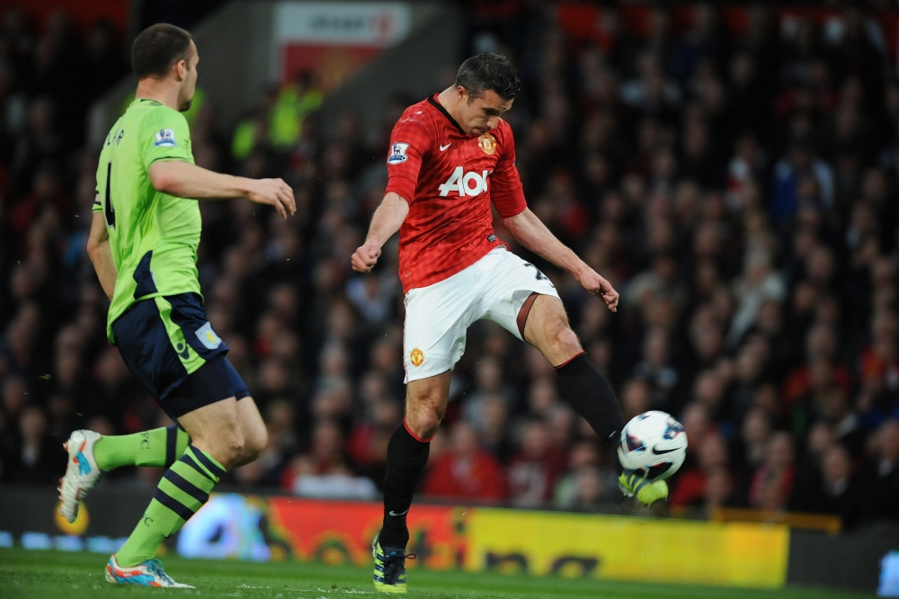 Robin van Persie hails 'one of the best goals' as he guides Manchester United to title