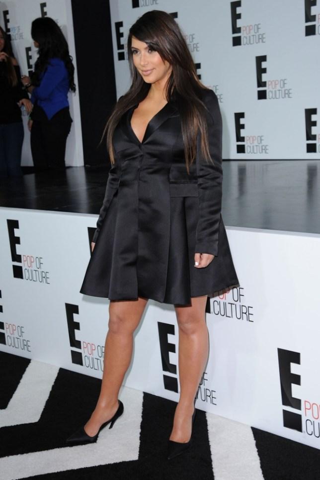 April 22,  2013: Kim Kardashian attending the 2013 E! Upfront at The Grand Ballroom at Manhattan Center on April 22, 2013 in New York City. Mandatory Credit: Kristin Callahan/ACE/INFphoto.com  Ref: infusny-220 |sp|U.S., UK, AUSTRALIA, NEW ZEALAND SALES ONLY.