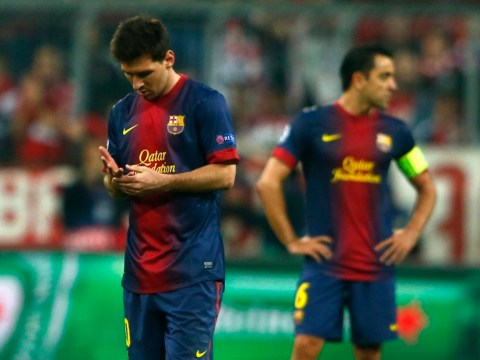 Barcelona's Champions League dream all but over, admits Xavi