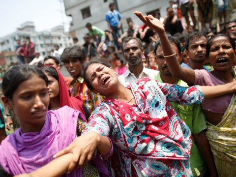 Gallery: Scores killed in Bangladesh building collapse