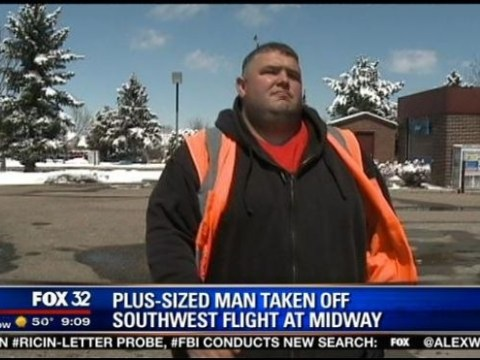 Southwest Airlines passenger 'kicked off flight because he was too fat'