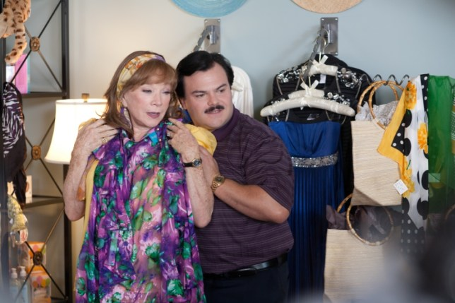 Jack Black and Shirley MacLaine star in Bernie (Picture: Supplied)