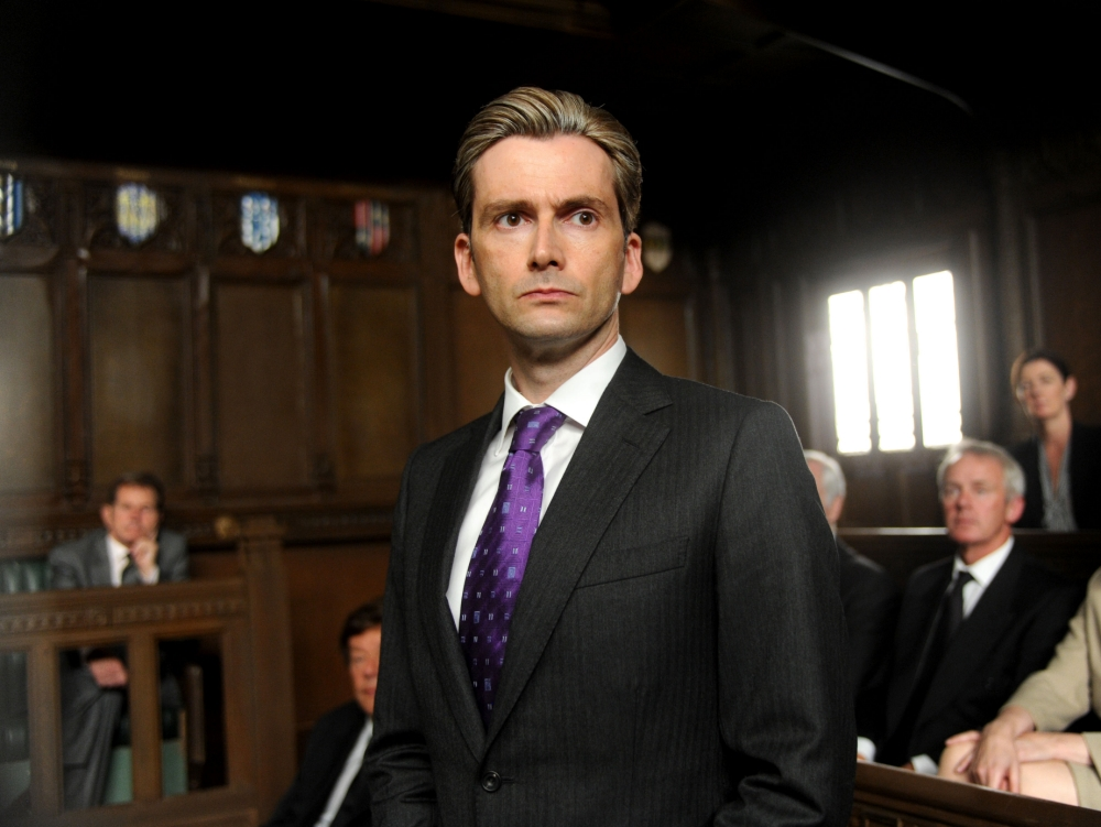David Tennant in The Politician's Husband (Picture: Liam Daniel)