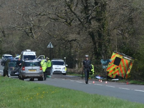 Paramedic and patient die as ambulance smashes into tree in Hampshire