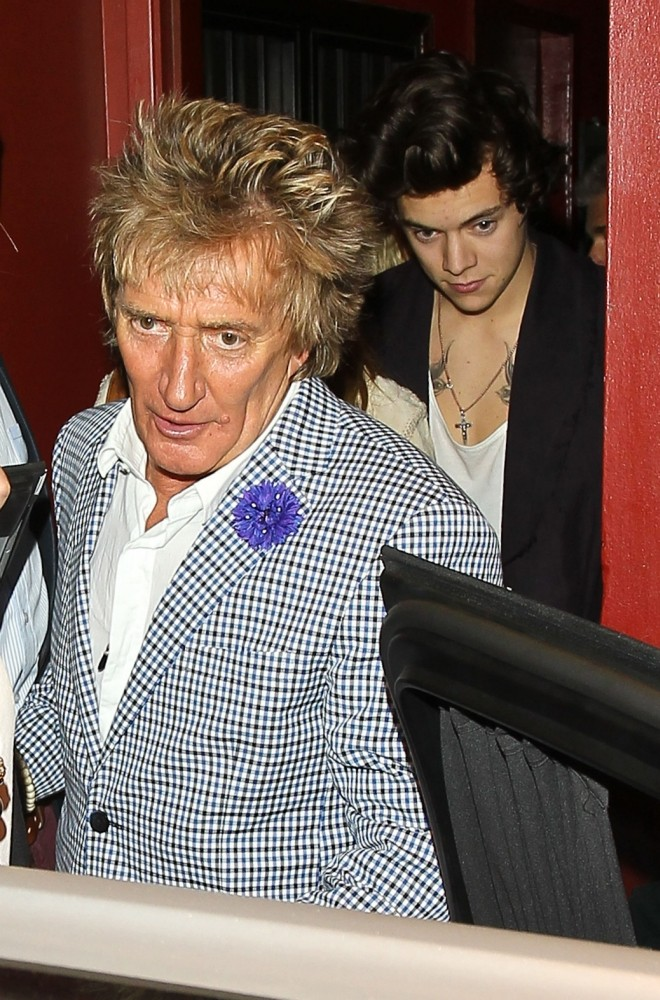 Rod Stewart accidentally reveals Harry Styles and his daughter Kimberly Stewart did spend the night together
