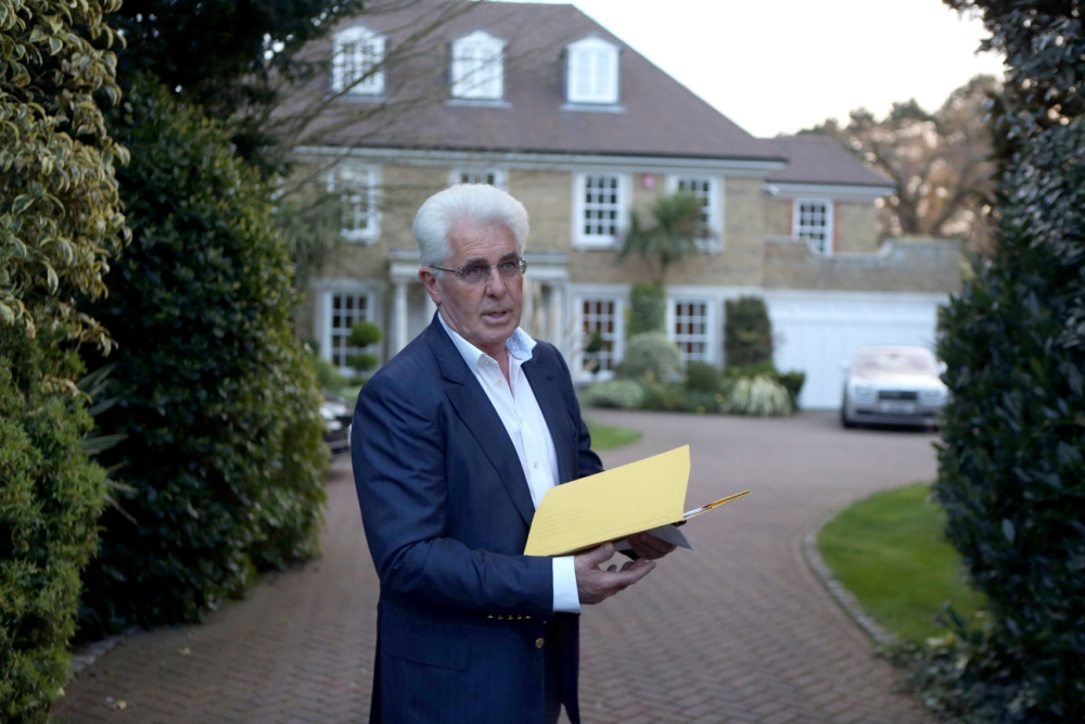 Publicist Max Clifford vows to clear name after being hit by 11 sex assault charges