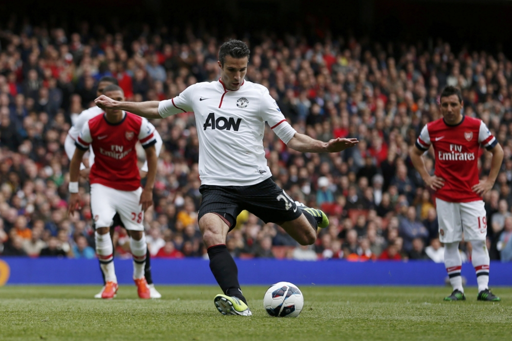 Robin van Persie disappointed with Arsenal fans' boos, says Patrice Evra