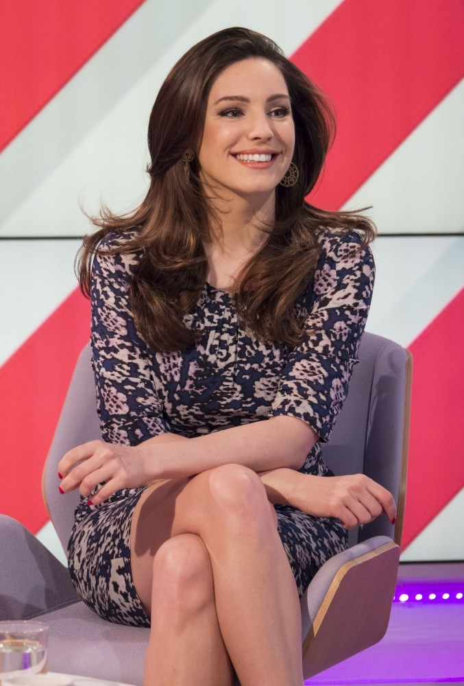 EDITORIAL USE ONLY / NO MERCHANDISING  Mandatory Credit: Photo by Ken McKay / Rex Features (2311434t)  Kelly Brook  'Lorraine Live' TV Programme, London, Britain. - 30 Apr 2013  HIGH STREET FASHION AWARDS 2013: LAUNCH Kelly Brook joins our team to celebrate the best of the British High Street. Alongside magazine editor Ali Hall and our own Mark Heyes, Kelly will be inviting viewers to vote for their favourite stores ahead of our glitzy awards ceremony in 3 weeks time.
